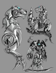 Grimlock by Partin-Arts.deviantart.com on @deviantART