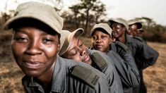 All female anti-poaching combat unit - in pictures Bbc World Service, Unsung Hero, Real Hero, Squad, The Unit, Inspiring Women, Vegans, Female, Couple Photos