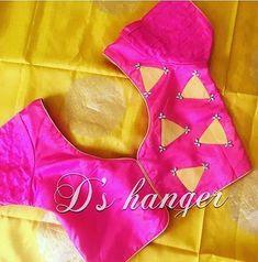 Best 11 Stylish blouse back neck design – SkillOfKing. Patch Work Blouse Designs, Pattu Saree Blouse Designs, Simple Blouse Designs, Stylish Blouse Design, Blouse Back Neck Designs, Fancy Blouse Designs, Designer Blouse Patterns, Diana, Blouse Models