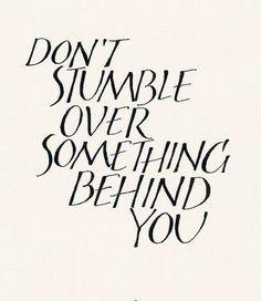 keep moving forward...