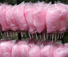 OMG, pure ecstasy. I'm a cotton candy fiend.    I'd love to see and taste brown sugar cotton candy, too.