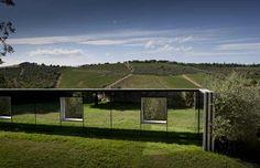 Italie: Castello di Ama un hotel entre vignes et œuvres d'art Daniel Buren