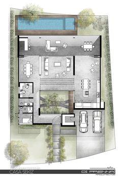 Phòng trưng bày Casa SEKIZ / Di Frenna Arquitectos - 23