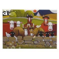 Thomas Joseph Sheep Magnet Ewe Got Friends