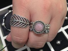My favourite Pandora store manager has such lovely ring stacks