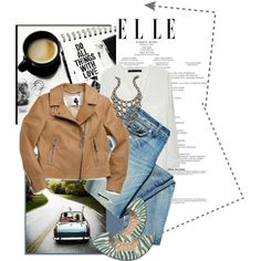 A fashion look from January 2013 featuring chiffon tops, leather motorcycle jacket and canvas shoes. Browse and shop related looks.