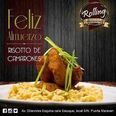 Aún no decides donde almorzar?? En @rolling_rest puedes deleitarte con la variada gastronomía que te ofrecen además de un excelente menú ejecutivo no te arrepentirás!!! #rolling #lunchtime #haztenotar #nuestraciudad #PuntoFijo #lunch #almuerzo #food #foodie #foodpics #foodgams #restaurantpuntofijo #paraguana
