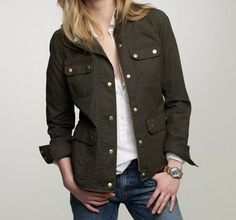 I must have this coat. The Downtown Field Jacket - J.Crew