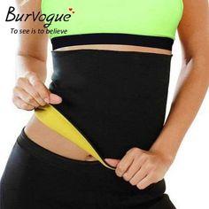 e0ba079d7e Burvogue Women Shaper Neoprene Abdominal Slimming Belt. Weight Loss For  WomenHide BellyWaist Trainer ...