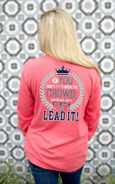 Jadelynn Brooke Lead The Crowd Long Sleeve Tee - The Pink Lily