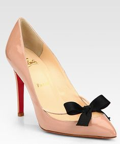 d8b93e36a2 Christian Louboutin ルブタン♪パテント リボン☆パンプス - LOU0891 Crazy Shoes, Me Too Shoes