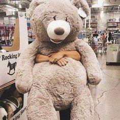 huge teddy bear at Costco Costco Bear, Huge Teddy Bears, Love Bear, Big Bear, Bear Tumblr, Teady Bear, Teddy Bear Gifts, Dinosaur Stuffed Animal, Tumblr Boys