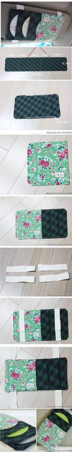 DIY CD Storage Pocket DIY Projects / UsefulDIY.com