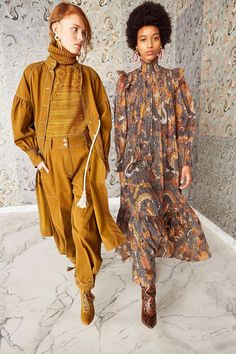 Ulla Johnson Pre-Fall 2019 Collection - Vogue The complete Ulla Johnson Pre-Fall 2019 fashion show now on Vogue Runway. Fall Fashion Trends, Fashion Week, Winter Fashion, Womens Fashion, Vogue Fashion, Fashion 2018, Ladies Fashion, Women's Dresses, Edgy Dress
