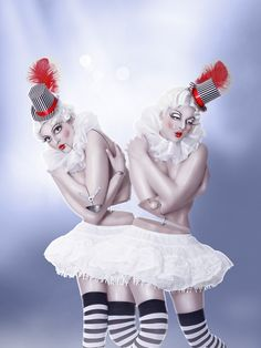 Puppet Twins by ~vismaya on deviantART