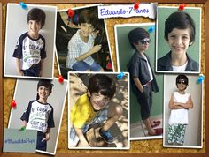 Hoje é dia de #MuraldaPupi e o dia é do Eduardo. Ele tem 7 anos, adora futebol e jogar vídeo game.
