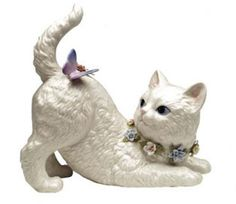 Cosmos SA49116 Fine Porcelain Cat Watching Butterfly Musical Figurine, 7-1/8-Inch, http://www.amazon.com/dp/B001RR1V3K/ref=cm_sw_r_pi_awdm_5OhVub089CHWS