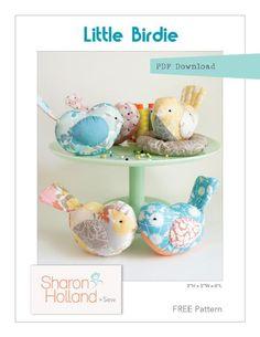 Free Sewing Pattern: Little Birdie