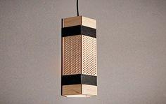 Black Penta Lamp by Jonathan Dorthe