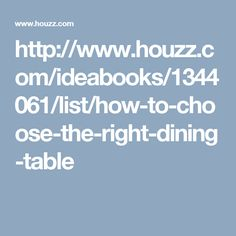 http://www.houzz.com/ideabooks/1344061/list/how-to-choose-the-right-dining-table