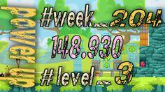 Angry Birds Friends Tournament Week 204  Level 3   power up  HighScore (...