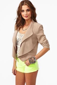 On The Edge Blazer...need!