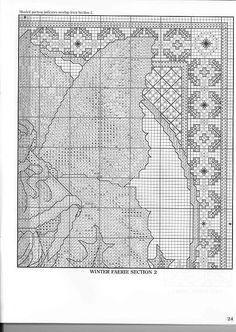 Winter Fairie - 5/5 Solo Patrones Punto Cruz (pág. 404) | Aprender manualidades es facilisimo.com