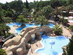 #Camping L'Hippocampe 5* à Argelès-Sur-Mer, à 900m de la plage.