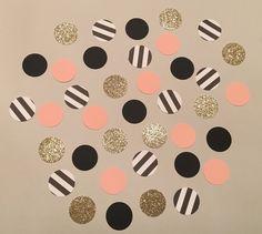 220 Paris Mix Confetti Glitter Confetti Pink by JBPartyCreations