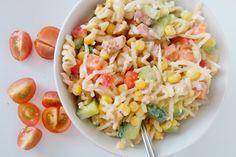 snelle pasta salade