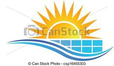 EPS Vectors of Sun with Solar Panel Logo Vector - Search Clip Art, Illustration, Drawings and Clipart Vector Graphics Images Vector Clipart, Eps Vector, Vector Graphics, Vector Stock, Vector Art, Vectors, Vector Icons, Solar Energy, Solar Power