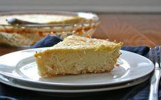Low carb coconut pie
