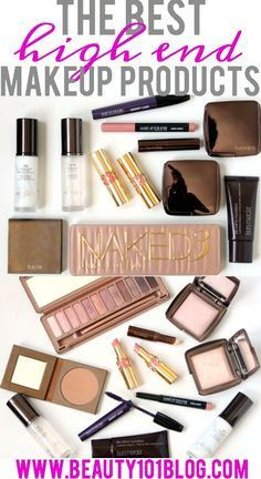 Feel like splurging on some great products? This list of the best high end makeup products is great! .