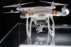 The DJI Phantom 3 packs some serious upgrades compared to the previous model! http://thegadgetflow.com/blog/take-drone-game-next-level-dji-phantom-3/?utm_content=buffer66e5f&utm_medium=pinterest&utm_source=pinterest.com&utm_campaign=buffer #drones #quadcopter #tech