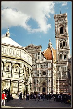 Santa Maria Del Fiore - Florence, Italy (One of National Geographic's World's 10 Best Cathedrals)