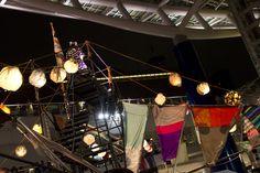 9/7 プロジェクト福島《フェスティバルFUKUSHIMA in AICHI!》 撮影:黒田愛美 撮影場所:オアシス21 盆踊りの写真