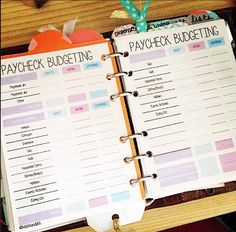 Paycheck Budgeting Printable | MsWenduhh | Bloglovin'