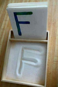 Sensory plus learning letters