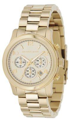 Michael Kors Midsized Chronograph Gold Tone Womens Watch MK5055 Armband,  Women s Watches, Gold Watches ebb1cbdc79