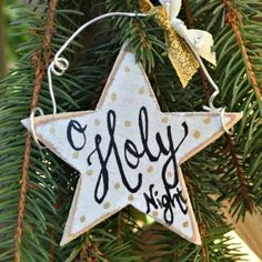 s 26 ridiculously cute ornaments you need this year, crafts, Polka Dot Stars