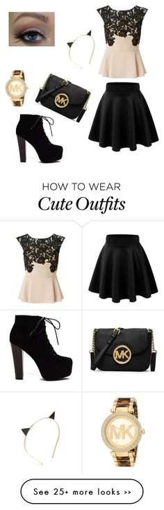"""""""Cute night out outfit"""" by hedayahaljaaf on Polyvore"""