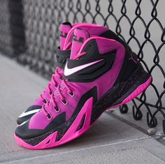 Breast Cancer Awareness Nike Zoom soldier 8's