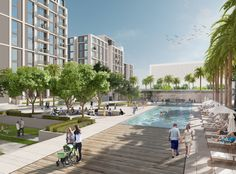 Marassi Boulevard offers a wide selection ranging from studios to three bedrooms in four residential buildings with 240 units. It faces Marassi Galleria and is within walking distance to the waterfront promenade.