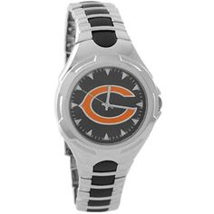 Chicago Bears Stainless Steel Victory Watch #fanatics
