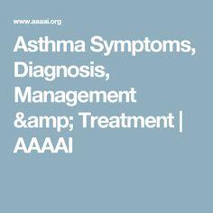 Asthma Symptoms, Diagnosis, Management & Treatment | AAAAI