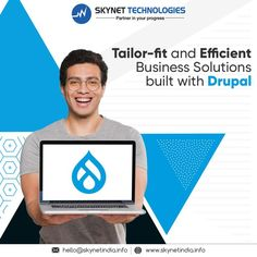 Propel your business with Drupal Development services! At Skynet Technologies, we strive to deliver tailor-fit and efficient business solutions built with drupal. #Drupal #Drupal7 #Drupal8 #Drupal9 #DrupalModule #DrupalCMS #DrupalDevelopment #DrupalDevelopers #BusinessWebsite #DrupalWebDevelopment #DrupalDevelopmentCompany #DrupalCommerce #DrupalModules #DrupalPartner #DrupalSecurity #DrupalWebDevelopmentCompany #DrupalServices #DrupalSolution #DrupalDevelopmentServices #USA #Australia Web Development Company, Application Development, Drupal, Business Website, Technology, Australia, Usa, Tech, Tecnologia