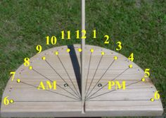 Wonderful How To Build And Install A Sundial In Your Garden | Gardens, Garden  Sculptures And Yards