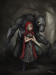 Red By Zeeksie On Deviantart Red Riding Hood Wolf Little Red Ridding Hood