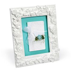 Embossed Just for You Photo Mat