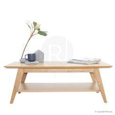 Nova Modern Designer Coffee Table - Oak